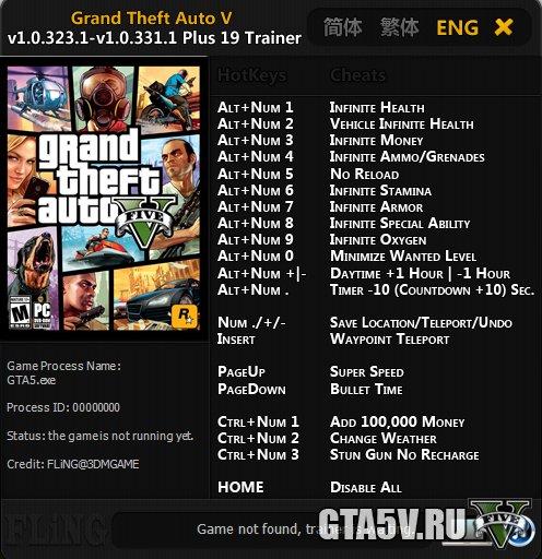 Скачать Трейнер На Игру Гта 5 - фото 2
