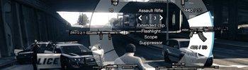 Как в GTA 5 на Xbox 360 открыть меню оружия