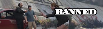 В GTA Online банят за использование модов