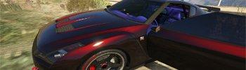 GTA 5 Nissan GTR Мод