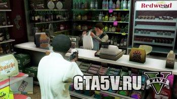 gta 5 первые деньги ограбление магазина