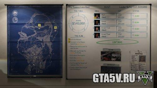Награда за ограбления gta online