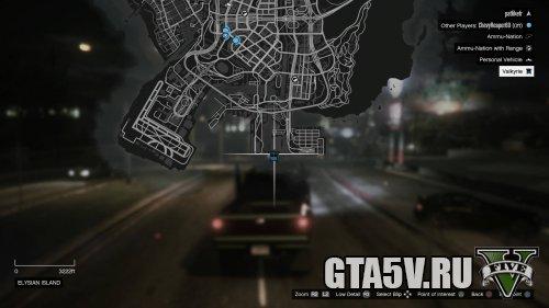 The Humane Labs Raid - Valkyrie - Карта