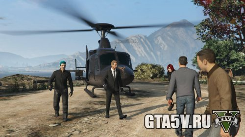 The Humane Labs Raid - Valkyrie - Вертолет доставлен