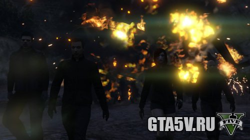 The Humane Labs Raid - Финальня сцена - взрыв вертолета