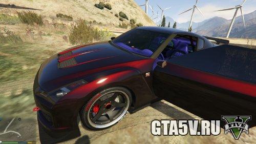 GTA 5 Мод Nissan GTR