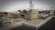 Los Santos International Airport Fire Station Пожарная станция в ГТА 5