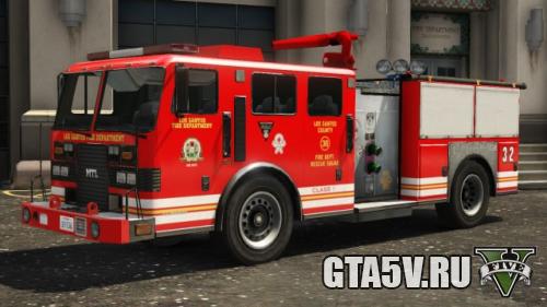 Как найти пожарную машину в ГТА 5