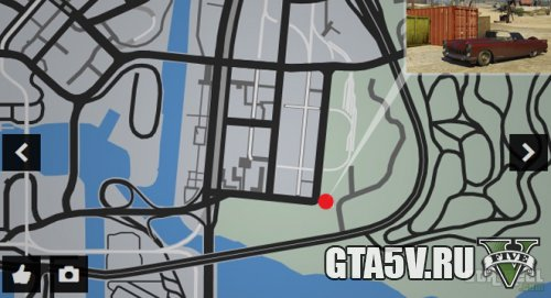 место нахождения peyot и tornado машин в ГТА 5 Онлайн