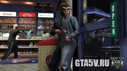 Заработок в ГТА 5 Онлайн на грабежах магазинов