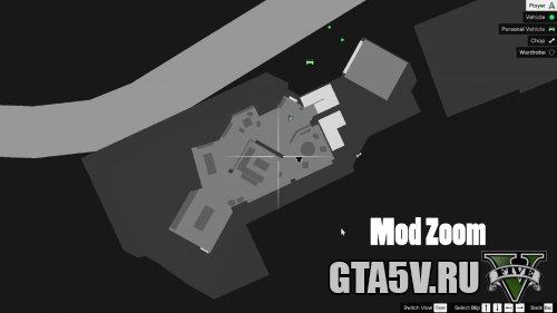 Mega Map Zoom-Out Мод на ГТА 5 — Увеличение-Уменьшение Карты
