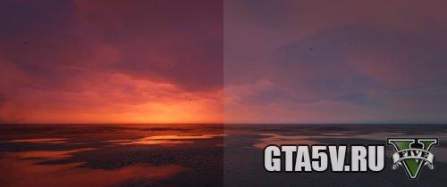Резкий Яркий Реализм (Custom ReShade) мод графики для ГТА 5