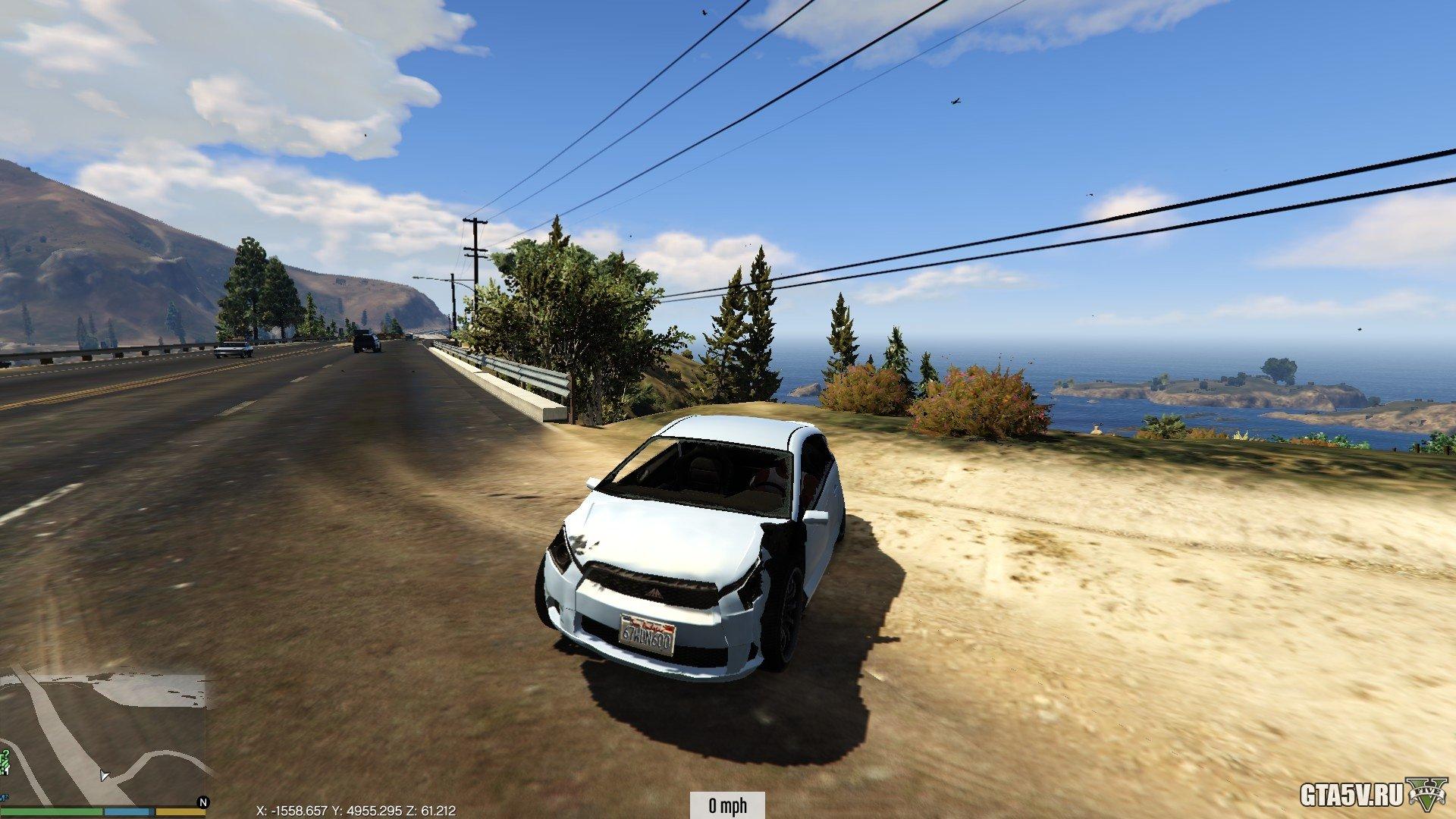 ГТА 5 моды на реалистичные повреждения машины