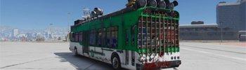 ГТА 5 Зомби Автобус для Апокалипсиса