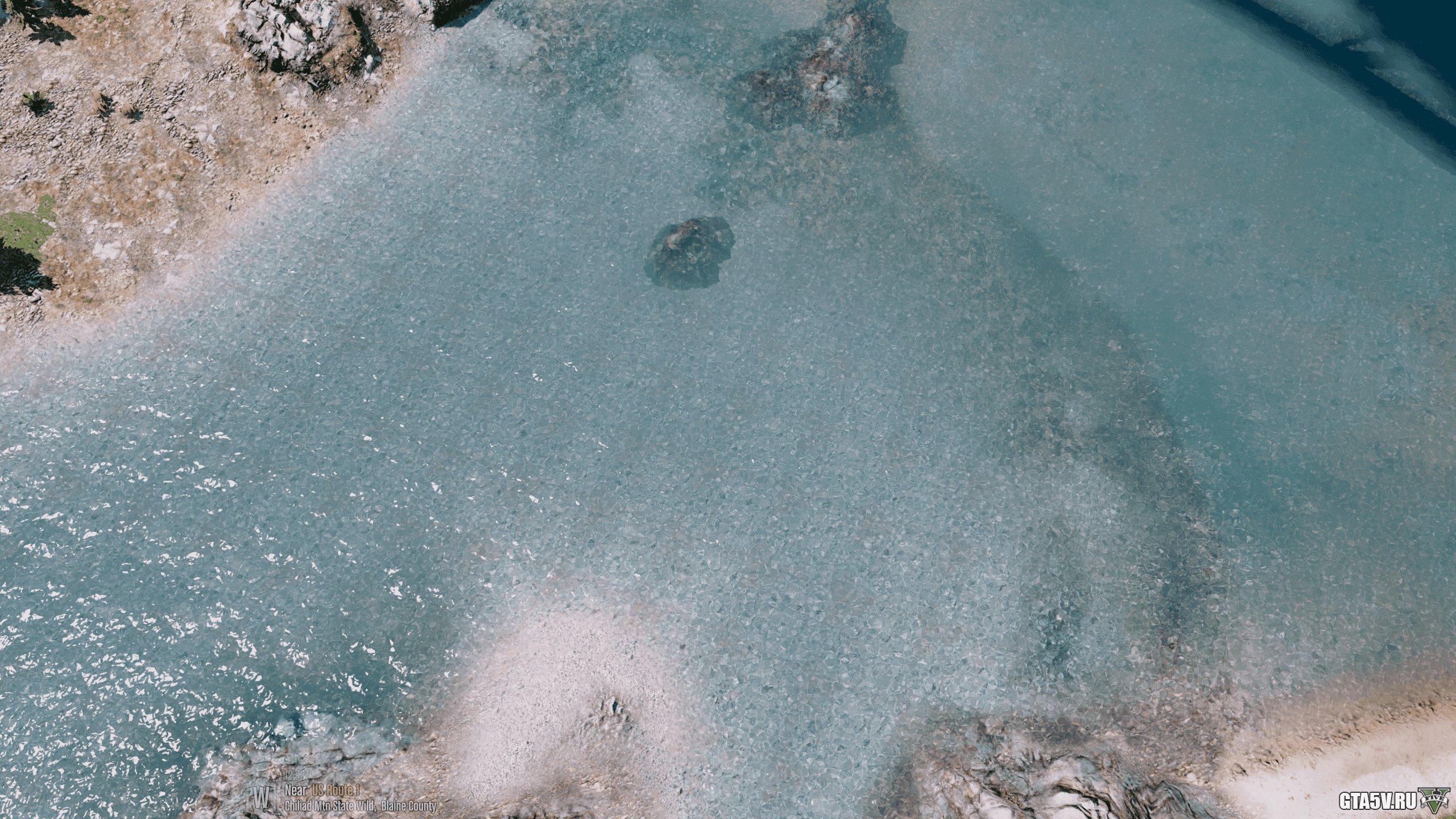 2k Water Мод на ГТА 5 — Реалистичная вода — Теперь 4K