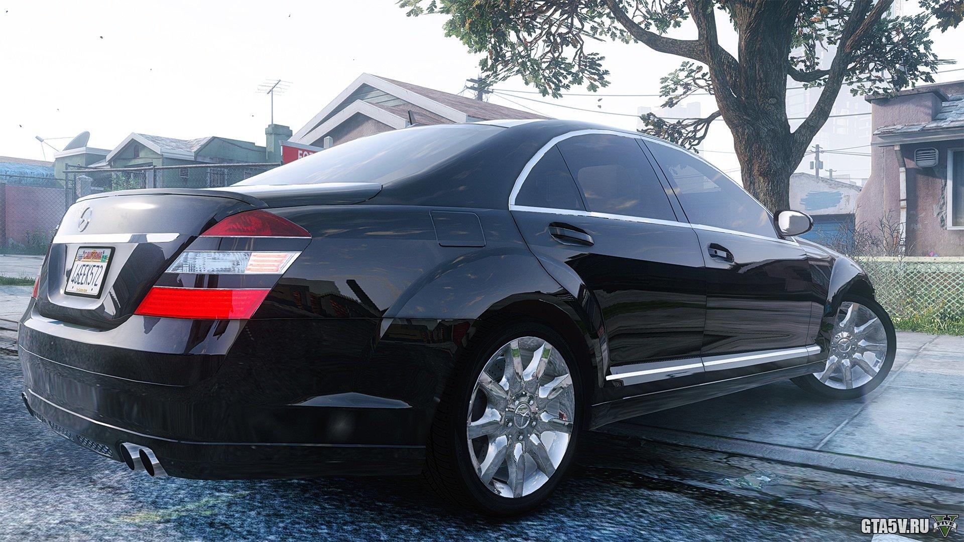 Mercedes-Benz S550 W221 (2008)