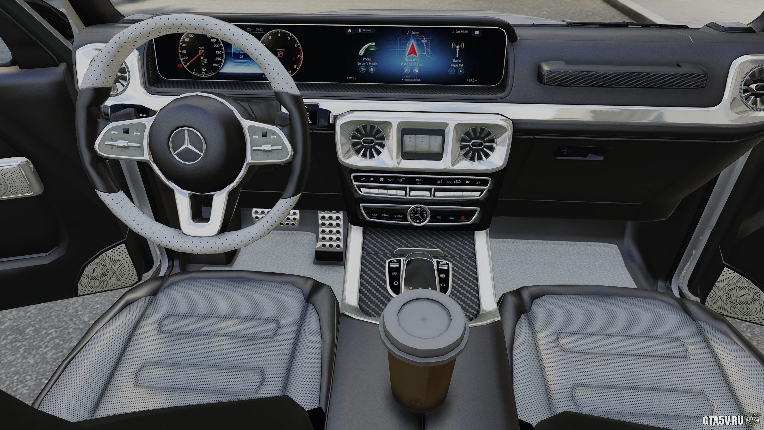 Mercedes-Benz G63 AMG (2019) — Гелик