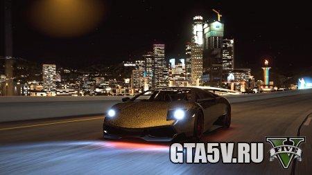 Скачать Leopard Lamborghini Murcielago — Скин для ГТА 5