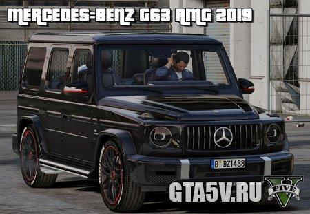 Скачать Mercedes-Benz G63 AMG 2019