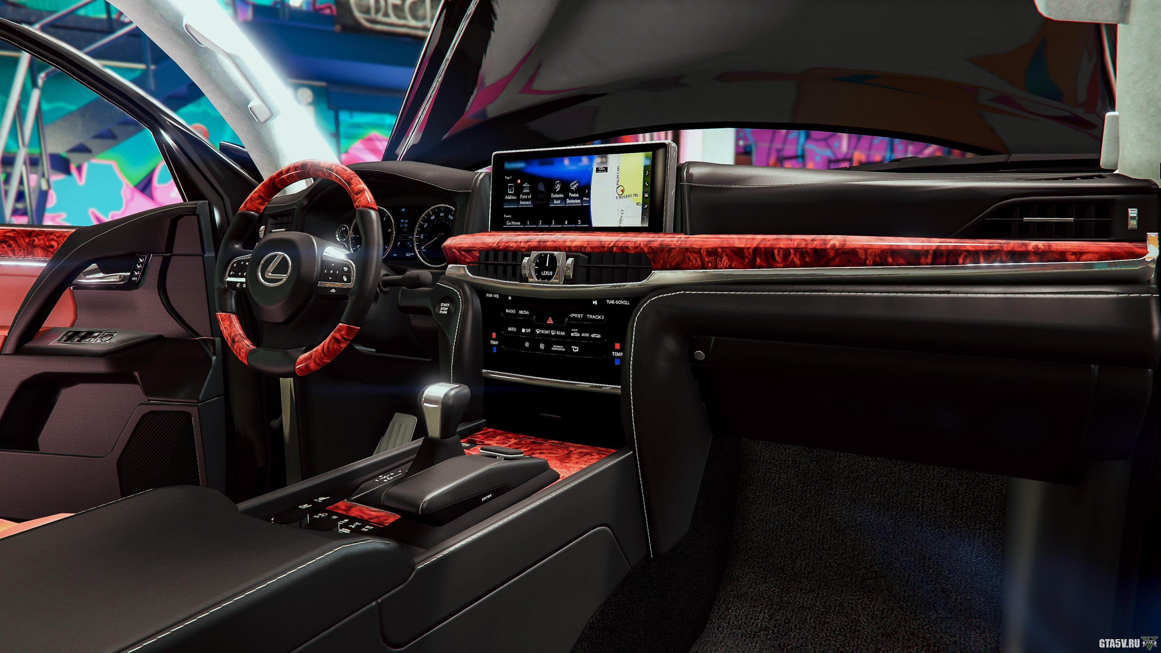 Лексус в ГТА 5 — мод Lexus LX 570 2018