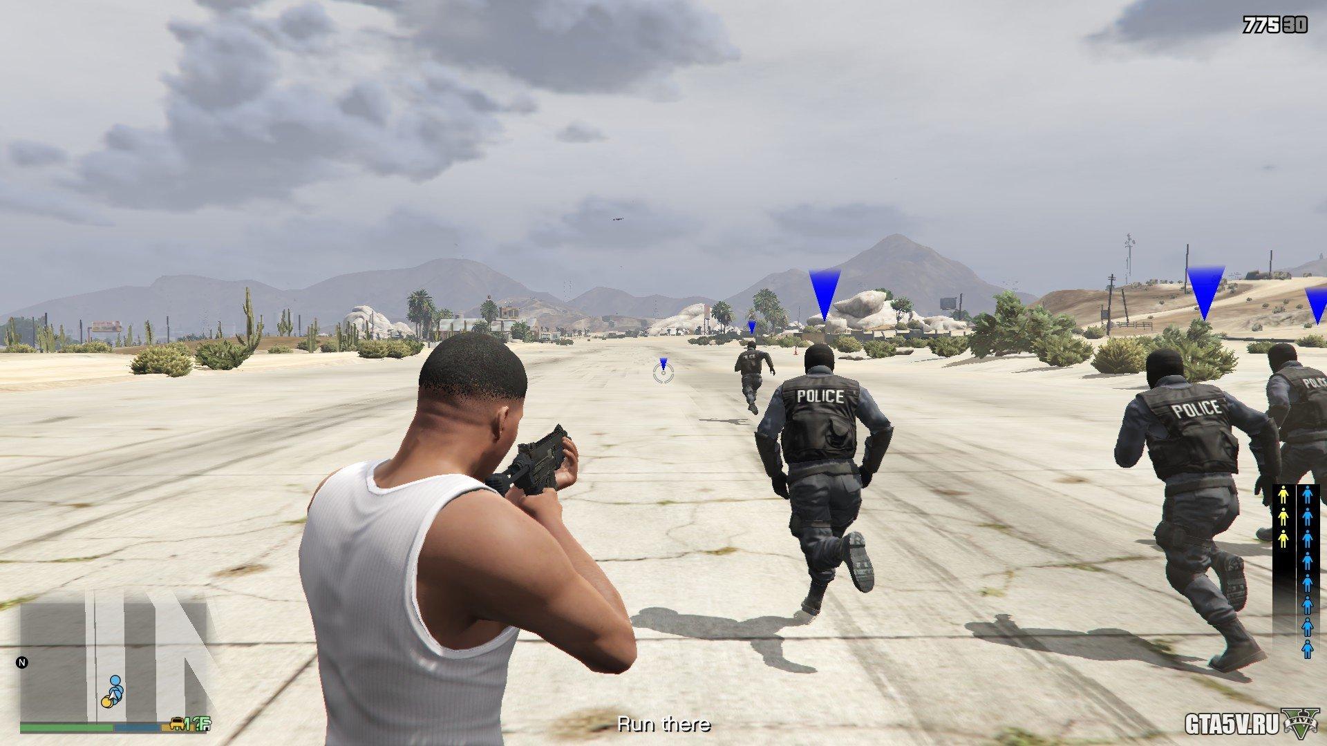 ГТА 5 Bodyguard