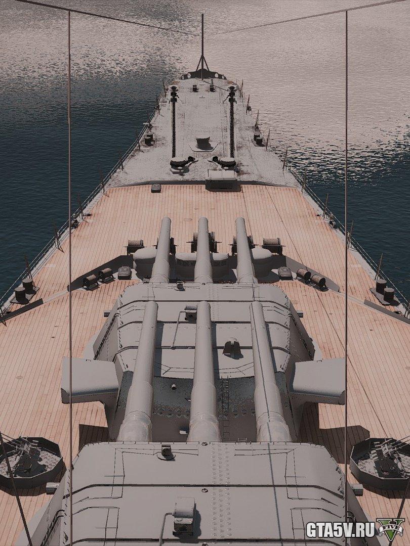 Battleships мод на ГТА 5 — лучшие корабли из World of Warships