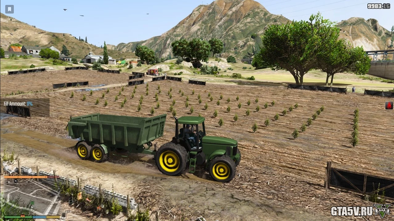 Farming Life Project — Мод ферма в ГТА 5
