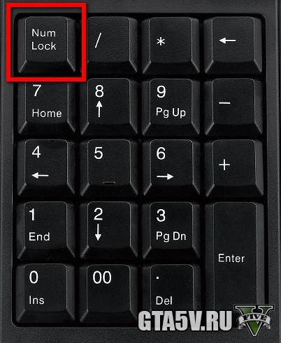 num клавиши для трейнера гта 5